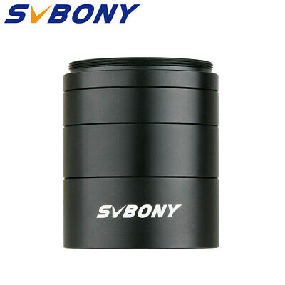 SVBONY Astronomical T2 Extension Tube Kit Length 5mm 10mm 15mm 20mm M42 Newest