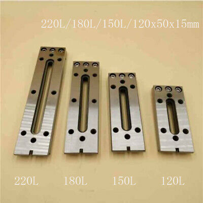 Wire EDM Fixture Board Stainless Jig Tool Fit Clamping And Leveling 12-22CM M8