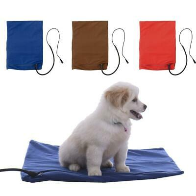 DC 12V Safe Heated Warmer Bed Pad for Dog Cat Reptile Pet Bed Pad Mat 40*30 cm