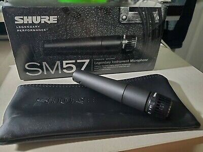 Shure SM57LC Wired Dynamic Cardioid Microphone