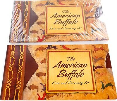 .2001 The American Buffalo Coin & Currency Set Mint Condition.