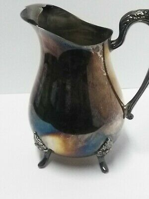 Vintage Silver Plated Serving Pitcher