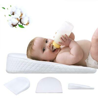 Cotton Milk Anti-Reflux Pillow For Baby Detachable Slope Shaped Shaping Pillow J