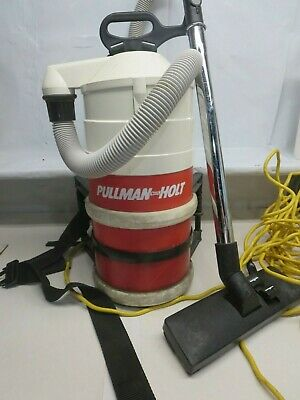 Pullman Holt Back Pack Portable Janitorial Vacuum 8.5 Amp