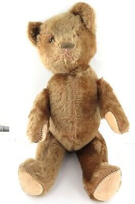 .Vintage / Quality / Largish / Articulated Teddy Bear, Possibly A Growler ??