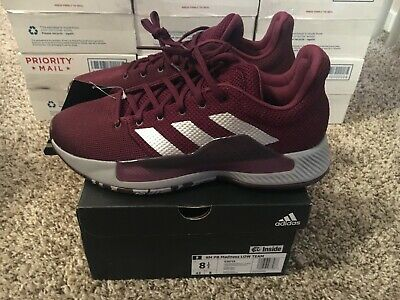 Adidas SM PB Madness Low Mens Size 8.5 G26716 Texas A&M Basketball Maroon March