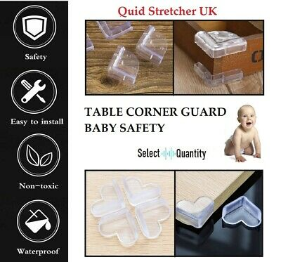Table Rubber Corner Furniture Edge Protector For Child / Baby Toddler Guard Uk