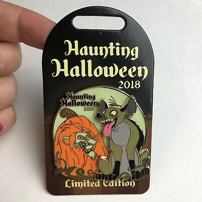 Disney Parks Haunting Halloween The Lion King 2018 Limited Edition Trading Pin