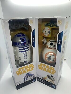 Disney Star Wars BB-8 and R2-D2 8in. Droids Collection NIB