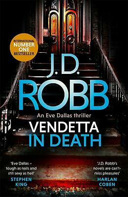 Vendetta in Death by J.D. Robb (English) Paperback Book Free Shipping!