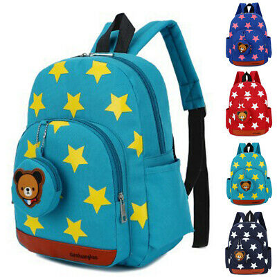 Cute Kids Boy Girl Children Backpack Nursery Toddler Lunch School Bag Rucksack