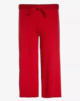 New Look 915 Generation Carly Belted Culotte Trousers, Red, Kids 12- 13 Yrs