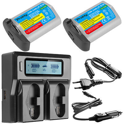 LP-E19 Battery or Charger for Canon EOS 1DX MARK II 1DS MARK III 1D MARK III IV