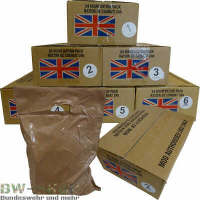 Original Britische Armee Mre Army Epa Menü Meal Ready To Eat Uk Gb Outdoor Essen