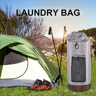 Bag Laundry Travel Backpack Nylon Outdoor With Shoulder Strap Adjustable Camping
