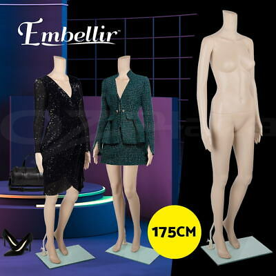 【20%OFF】Full Body 175cm Female Mannequin Torso Clothes Display Dressmaking Show