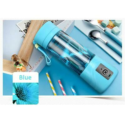 Portable Juicer Juice Extractor Fruit Squeezer Home Use Commercial Blenders Blue