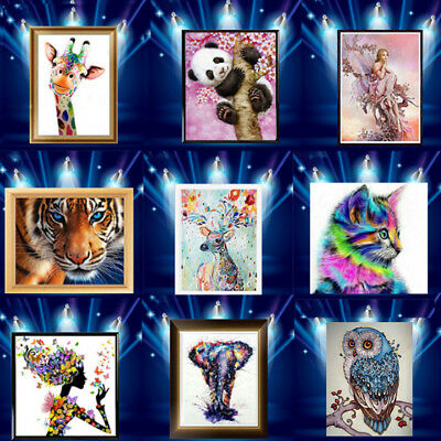 5D Diamond Painting Embroidery Cross Stitch Pictures Art Craft Mural Kit Decor Z