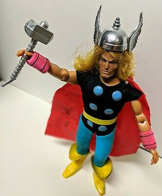 "Vintage Mego WGSH 8"" The Mighty Thor Marvel's Avengers"
