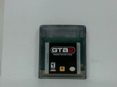 GRAND THEFT AUTO 2 Gameboy Color Good