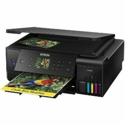 Epson Expression Supertank ET-3600 PRINTER CUSTOM DUST COVER EMBROIDERY !