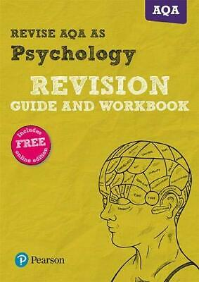 REVISE AQA AS level Psychology Revision Guide and Workbook (R... by Harty, Susan