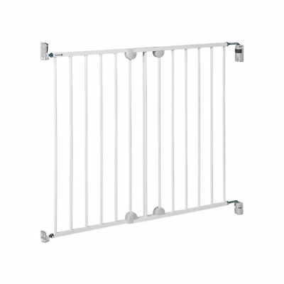 Easy Fit Stair Gate Child Baby Pet Safe Metal Gate Barrier Home Stair Guard