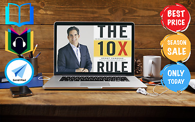 The 10X Rule by Grant Cardone:The Difference Between Success & Failure AUDIOBOOK