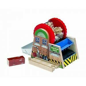 Thomas the Tank Engine Wooden Rail Series Wood Chipper (Y4094)