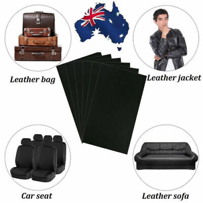 1-6PCS Leather Repair Kit Patch Car Seat Upholstery Filler Couch Sofa Furniture