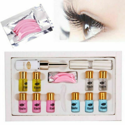 Eyelash Perming Kit Lash Lifting Curling Set Pad Cilia Lift Perm Rod Glue Tool*
