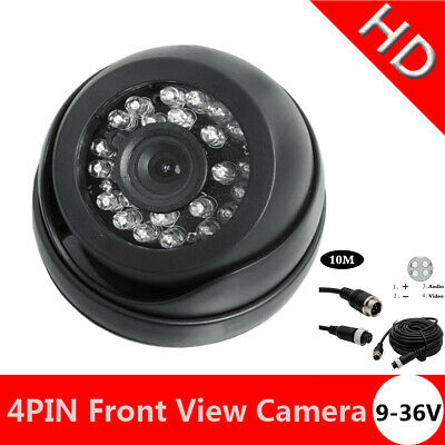 Auto Moto Car Front View Camera Forward Cam with No Grid Lines Non Mirror Image