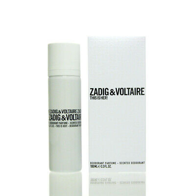 (21,95 EUR/100 mL) Zadig & Voltaire This is Her Deodorant Deo Spray 100 ml NEU