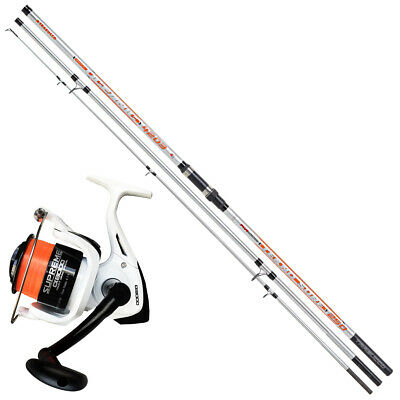 KP4013 Kit Pesca Surfcasting Canna Oceanic Tekno Surf 420 + Mulinello 8000 PPG