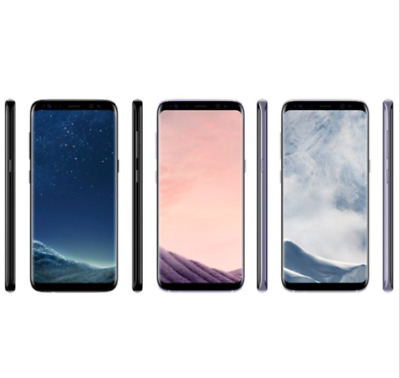 Unlocked Samsung Galaxy S8 G950U Smartphone Black +Accessories Gift