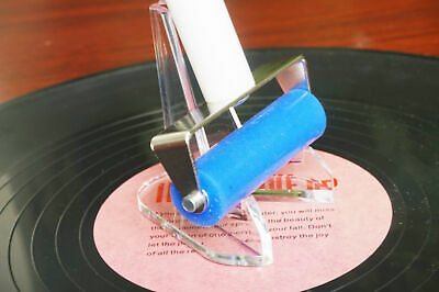 Reusable Anti-Static Record Cleaner & Stand for LP Vinyl Records and PC Screen