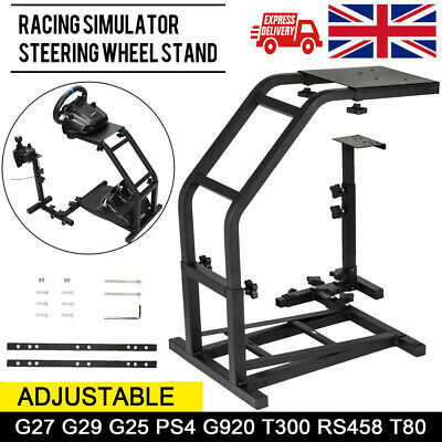 Racing Simulator Steering Wheel Stand GS Model Gaming For Logitech G29 27 25 UK