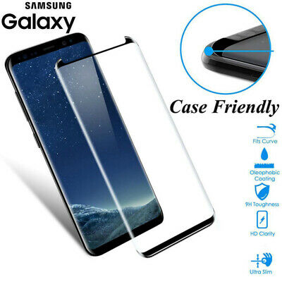 For Samsung Galaxy S10 Plus S8 Note 9 Tempered Glass Screen Protector Film Cover