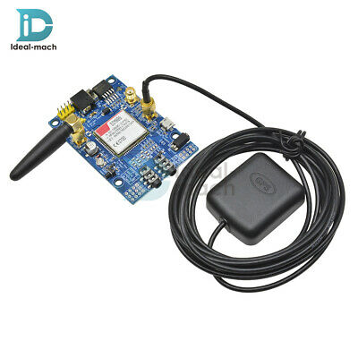 SIM808 GSM GPRS GPS Module Development Board SMA with GPS Antenna For Arduino