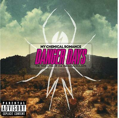 MY CHEMICAL ROMANCE DANGER DAYS CD (Released 2010)