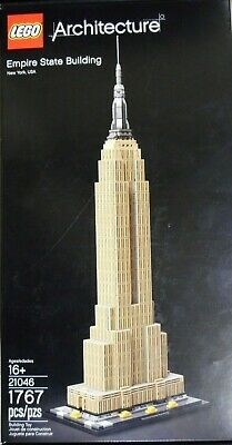 New in Box Lego Architecture New York Empire State Building 21046 FREE SHIPPING
