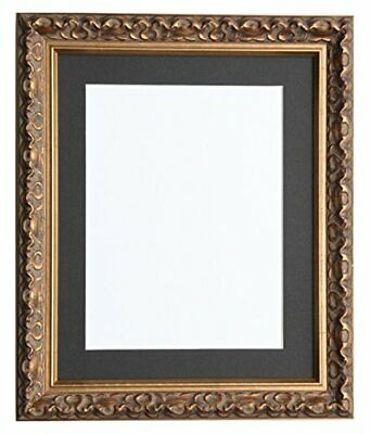 Tailored Marcos–Viena Oro, (Frame 80x60cm for 70x50cm Black Mount)