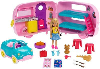 Chelsea Camper Playset - Barbie Free Shipping!