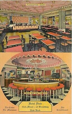 NY, New York City, Dixie Hotel Dining Room, Multi-View, Colourpicture No 15988