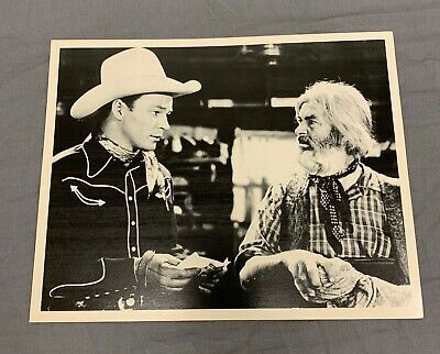 """Roy Rogers and Gabby Hayes Western Figure Tabletop Display Standee 8/"""" Tall"""