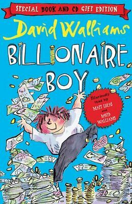 Billionaire Boy (Book and CD Pack) by Walliams, David Book The Cheap Fast Free