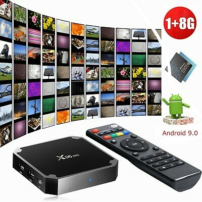 Smart Tv HDR Box X96 mini Android HDMI WIFI 4K Multimédia Google Play 8 Go Fr