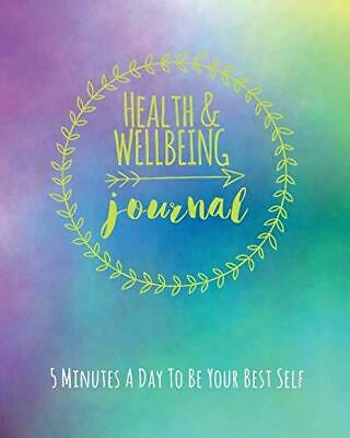 Health and Wellbeing Journal by Janice Walker Paperback NEW Book