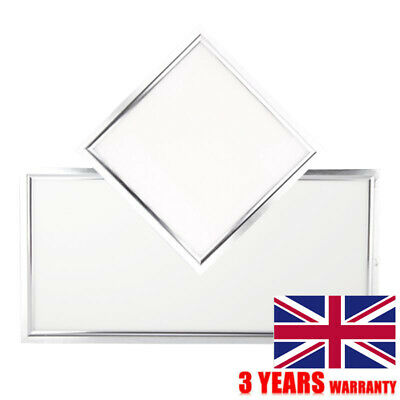 36W Ceiling Light Suspended Recessed LED Panel White Office School Shop 600X600