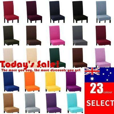 Washable Dining Chair Covers Spandex Slip Cover Stretch Wedding Banquet Party